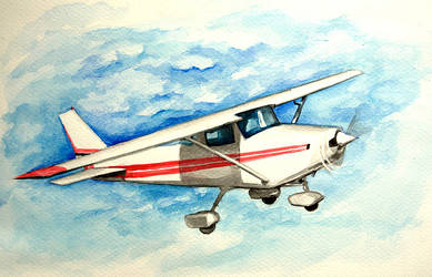 Cessna 152 by Ikarus-001