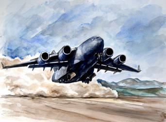 C-17 Globemaster by Ikarus-001