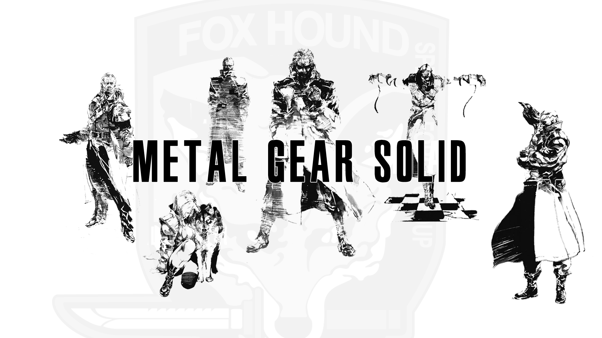 Foxhound Metal Gear Solid Lotz Of Wallpaper