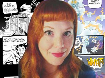 Kat Klockow Art Bio Photo Copy by klockowcomics