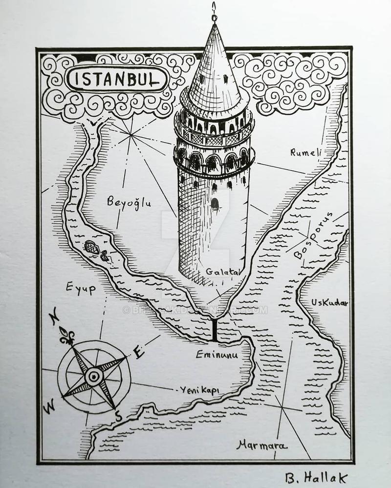 Istanbul Galata 2018 by bhallak