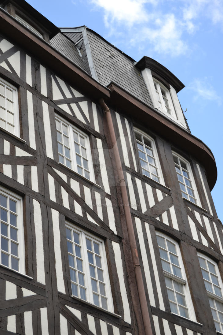 Old Building in Rouen by elandsiedel