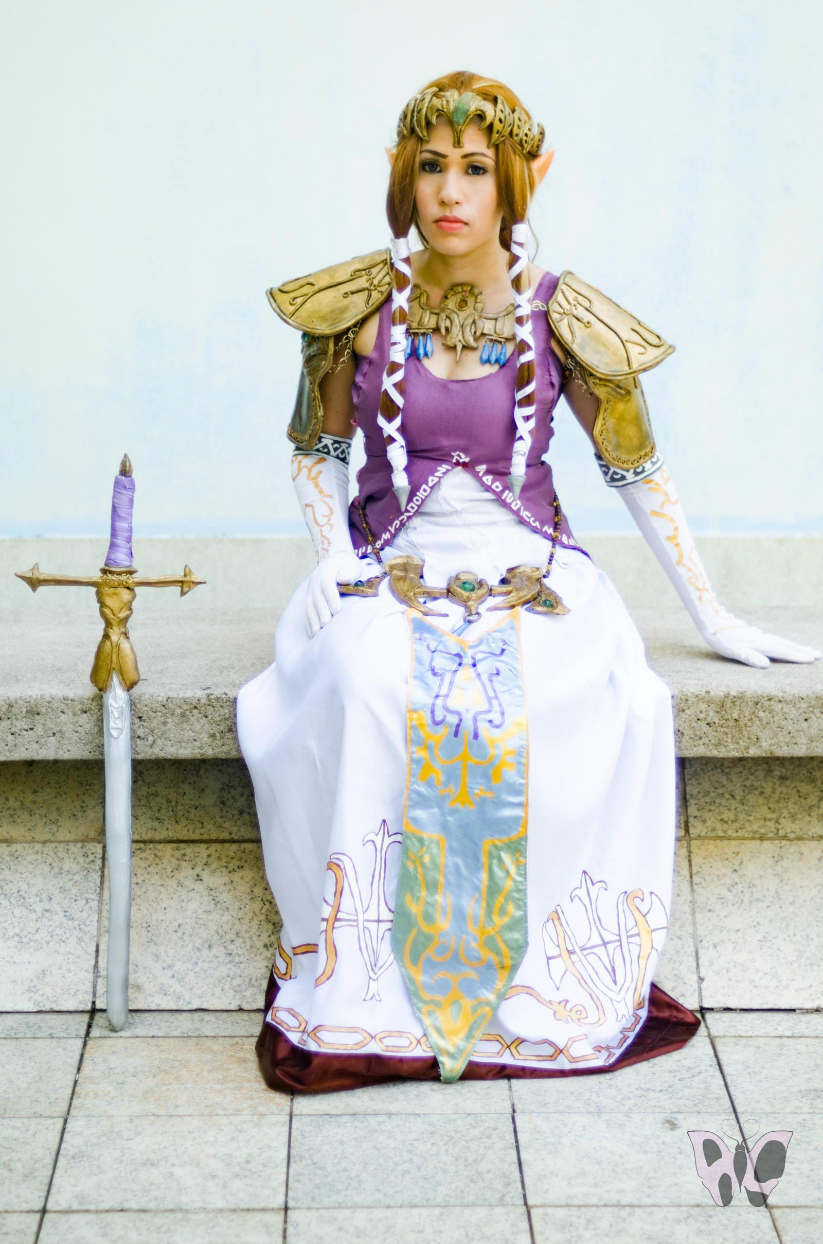 Princess Zelda Twilight Princess Cosplay By Alessandrale On