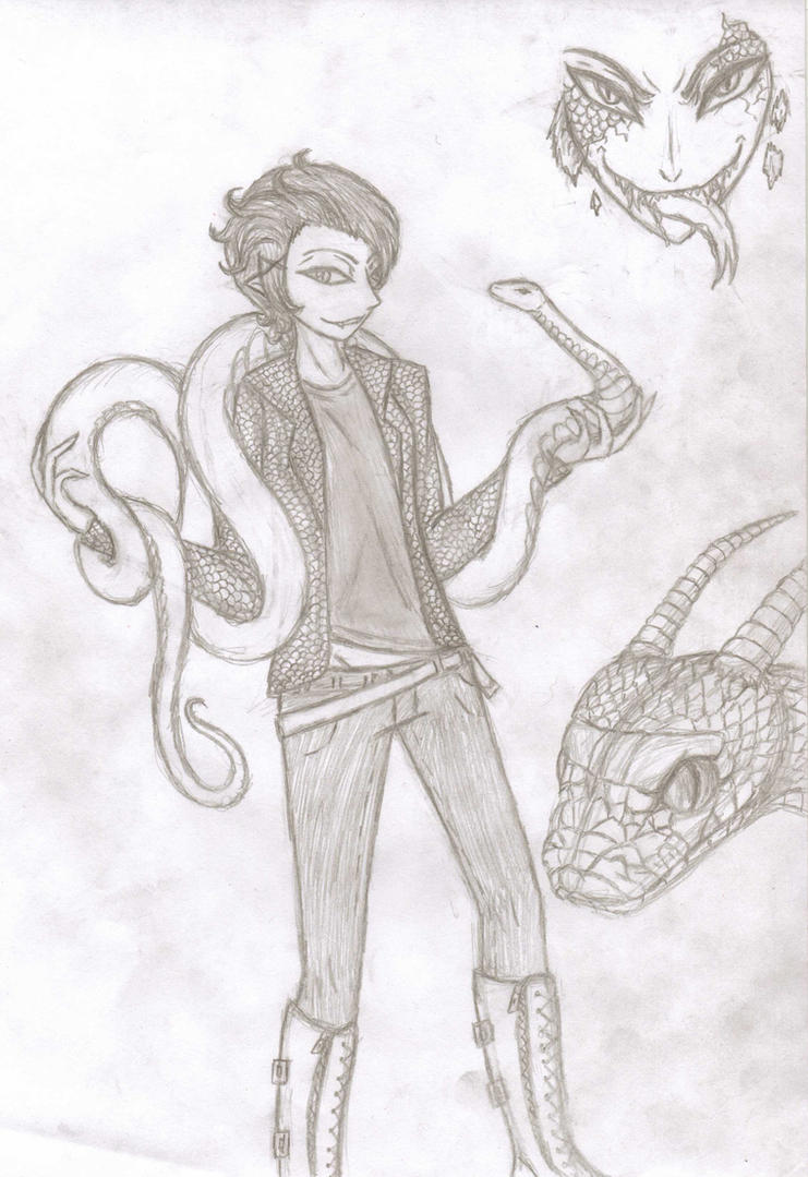 Snake Boy by Jisuke27
