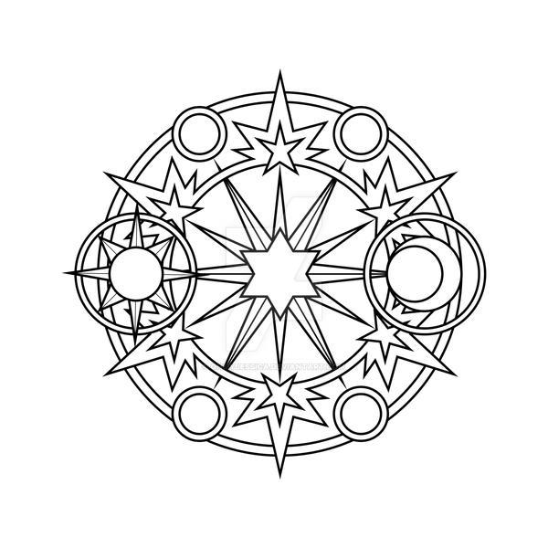 CCS Clear Card Arc Magic Circle