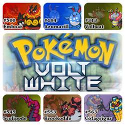 PokemonVoltWhiteVersion.ChampionTeam by Riftinge