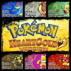 PokemonHeartGold.JohtoTeam by Riftinge