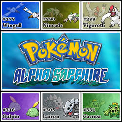 PokemonAlphaSapphire.HoennChampionshipTeam by Riftinge
