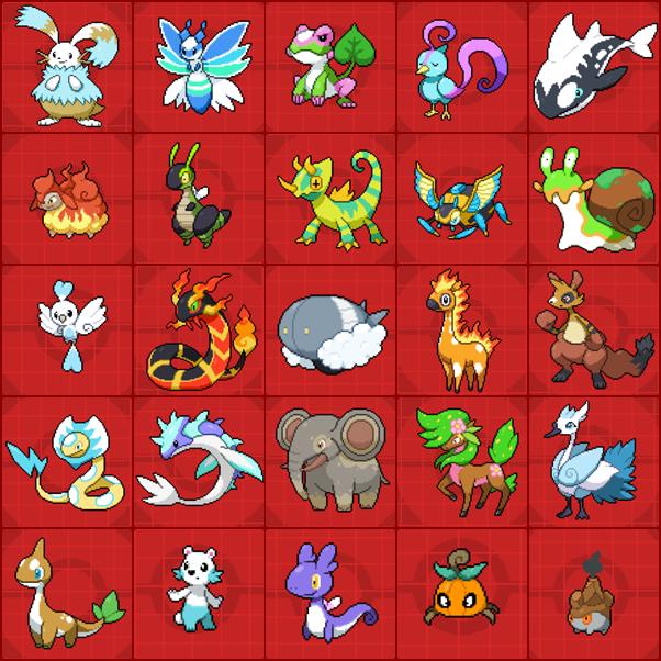 PokemonSolarLightLunarDark.LeftFavouriteFakemon by Riftinge