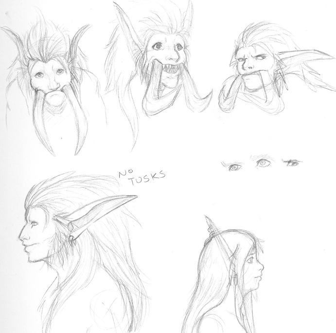 Random Ai'alarion Sketchies 2 by Zaebrael