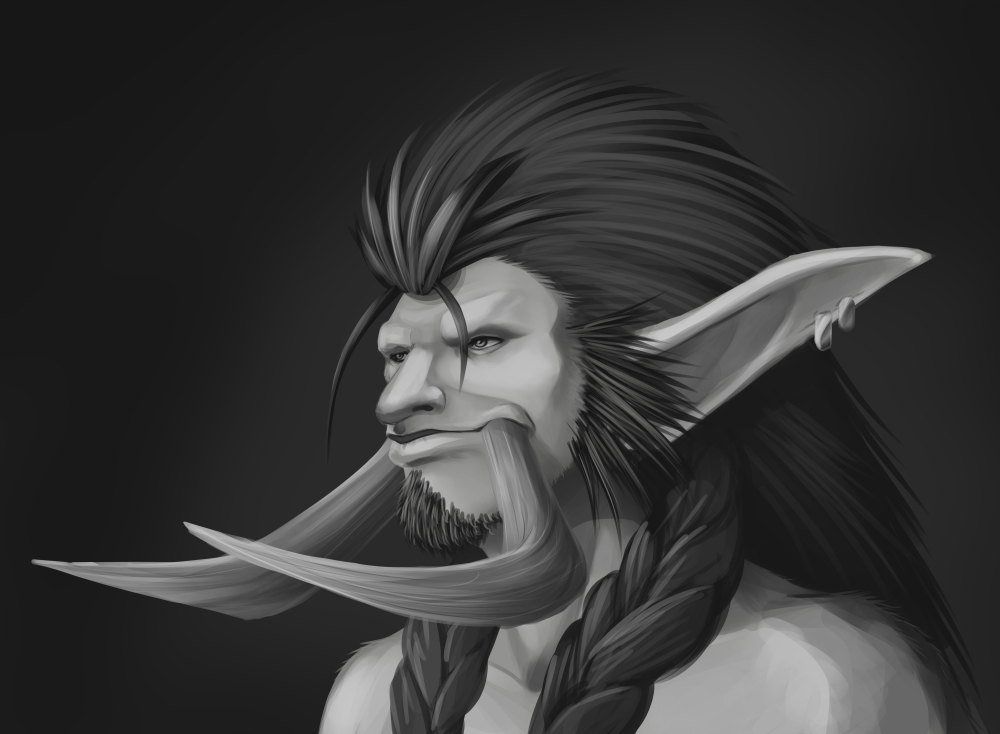 Alarion Bust by Zaebrael