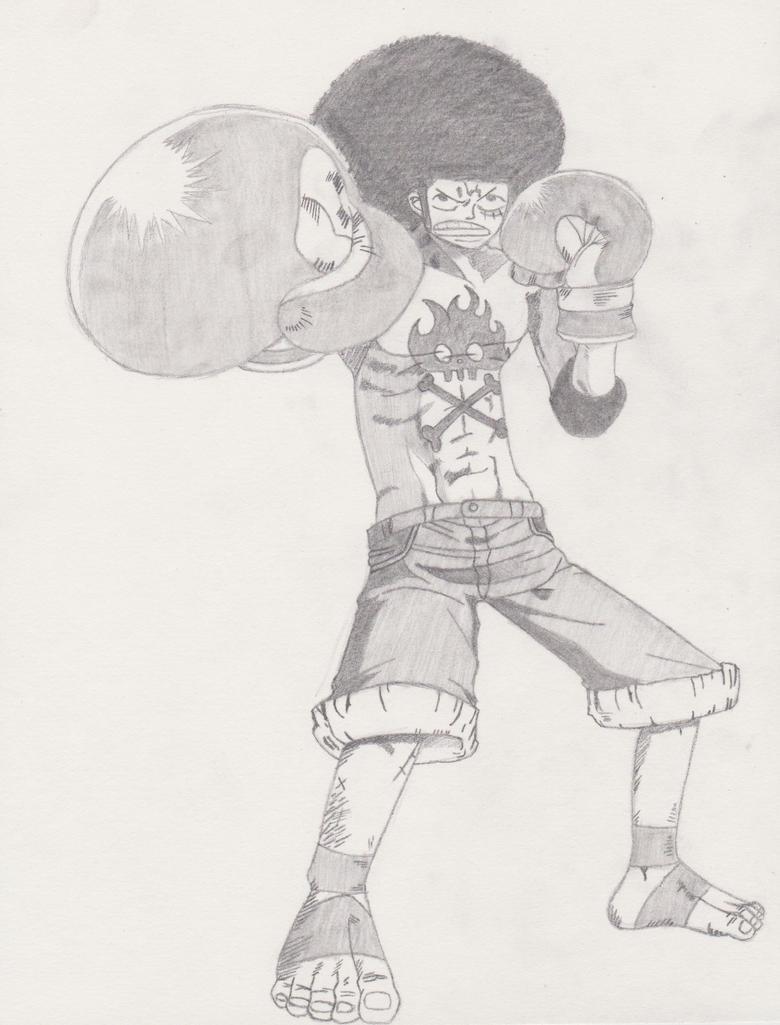 Afro Luffy by XxxHimari-chanxxX