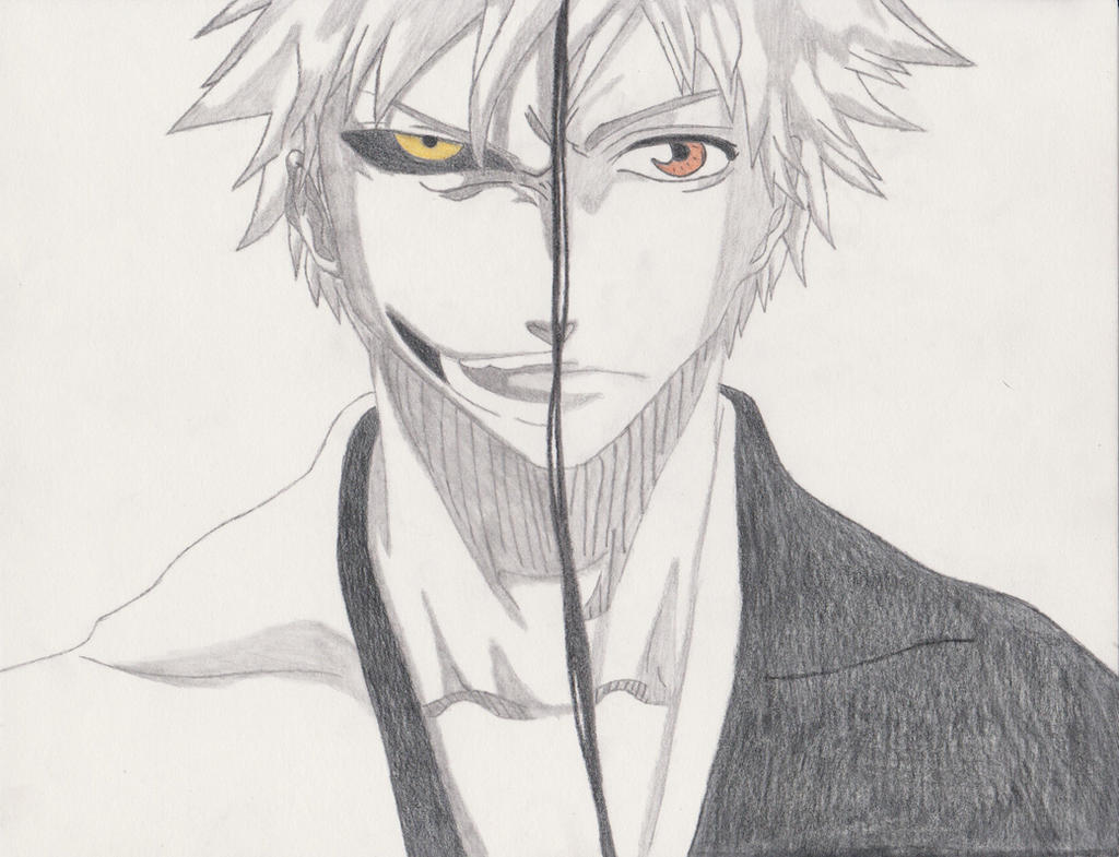 Good And Evil Drawings Ichigo good/evil by xxxhimari-: galleryhip.com/good-and-evil-drawings.html