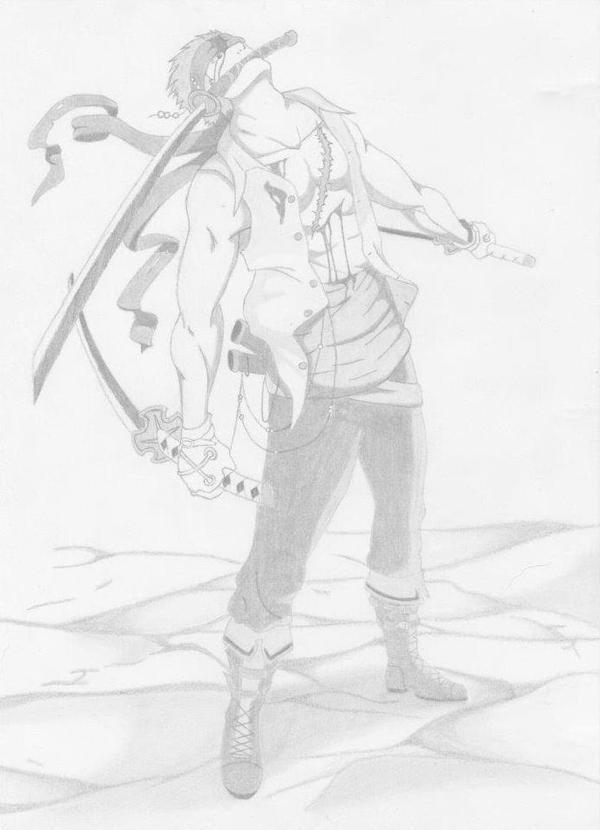 Zoro (one piece) by XxxHimari-chanxxX