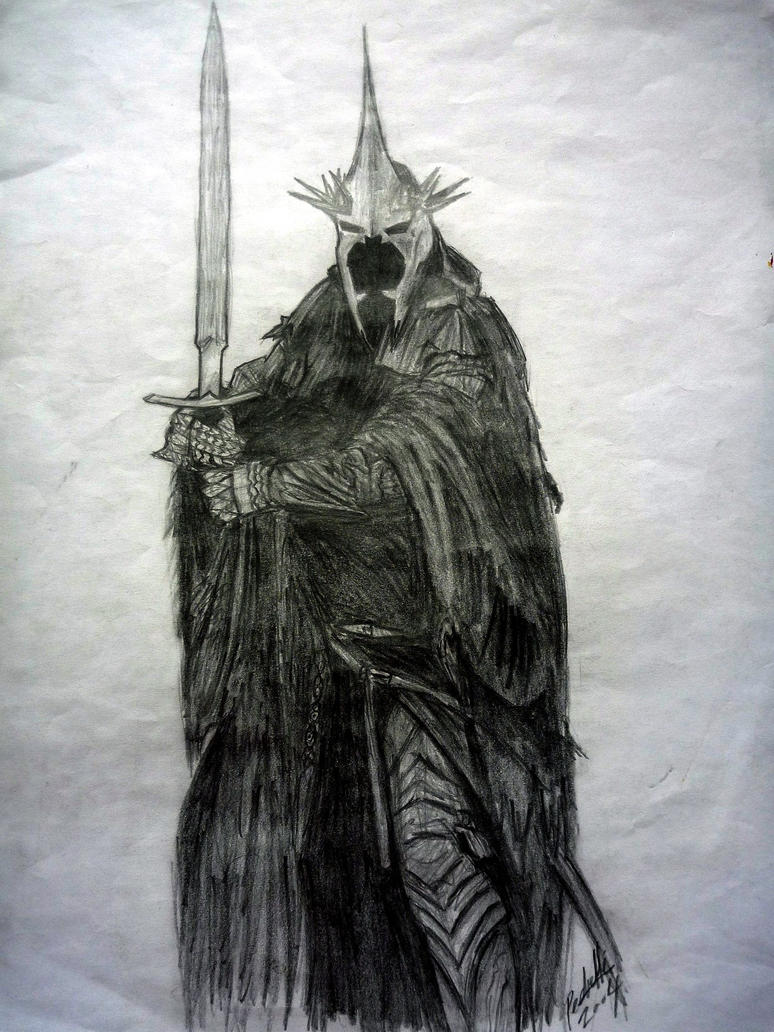 king angmar _witchking_ Lotr by enzoiulian on DeviantArt