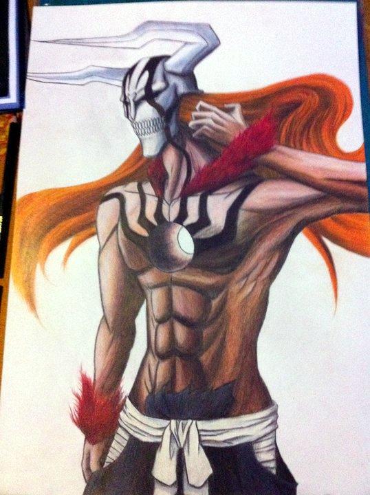 Ichigo Ultimate Hollow Form by Nathlas on DeviantArt