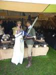 EFF 2013 - Link met Princess Zelda at the Market