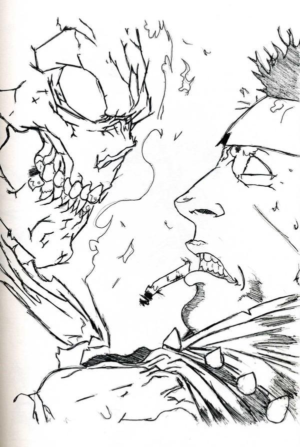 Ghost Rider by BronzeAthlete