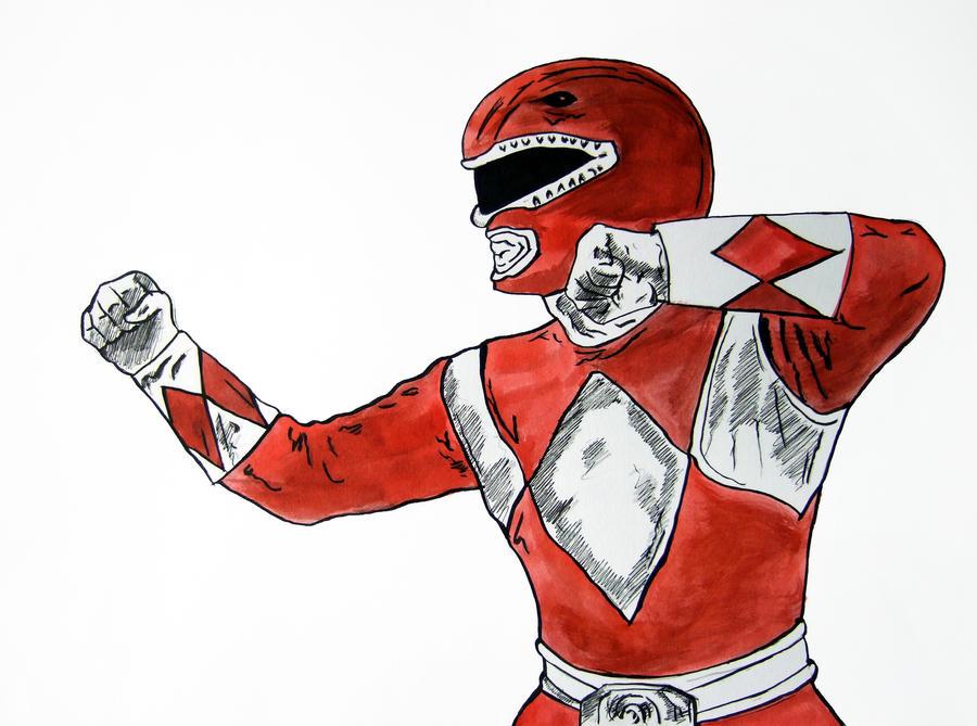 Red Ranger by BronzeAthlete