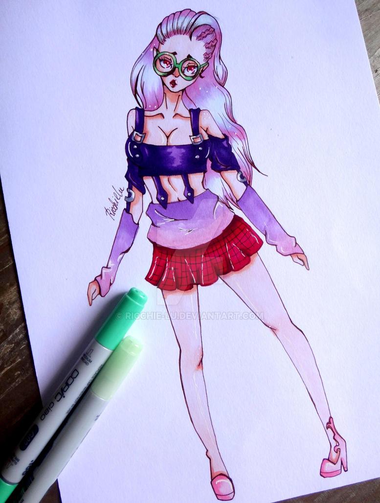 [COMISSION] Pastel by Ricchie-Lu