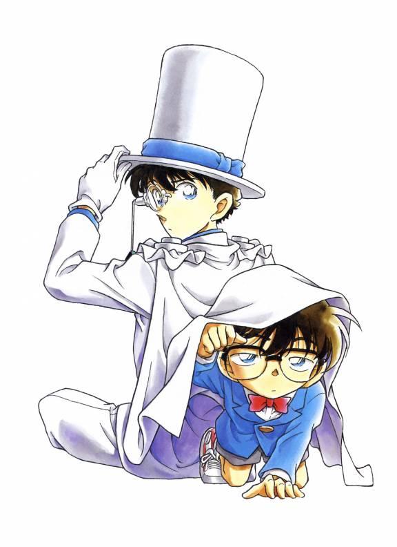 Kaito and conan by Yumi--mystery