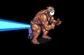 final fantasy v titan laser by gilgamesh111