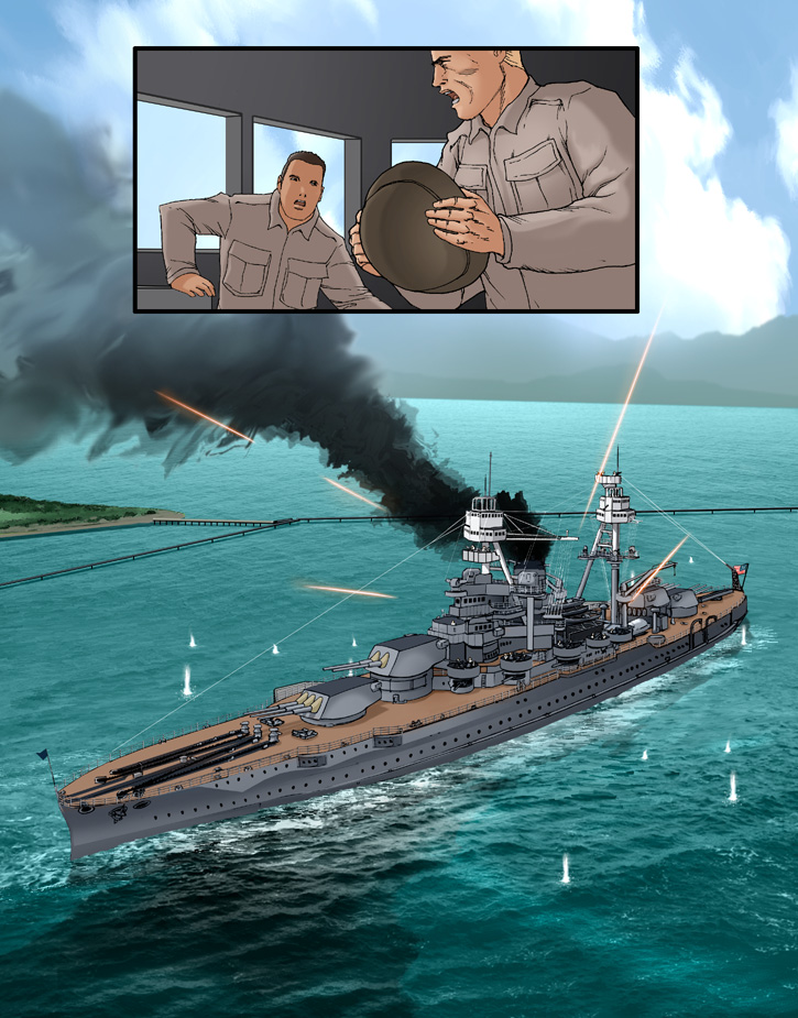 Pearl Harbor page 16 by joewight
