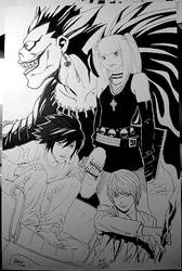Deathnote Art Jam by joewight