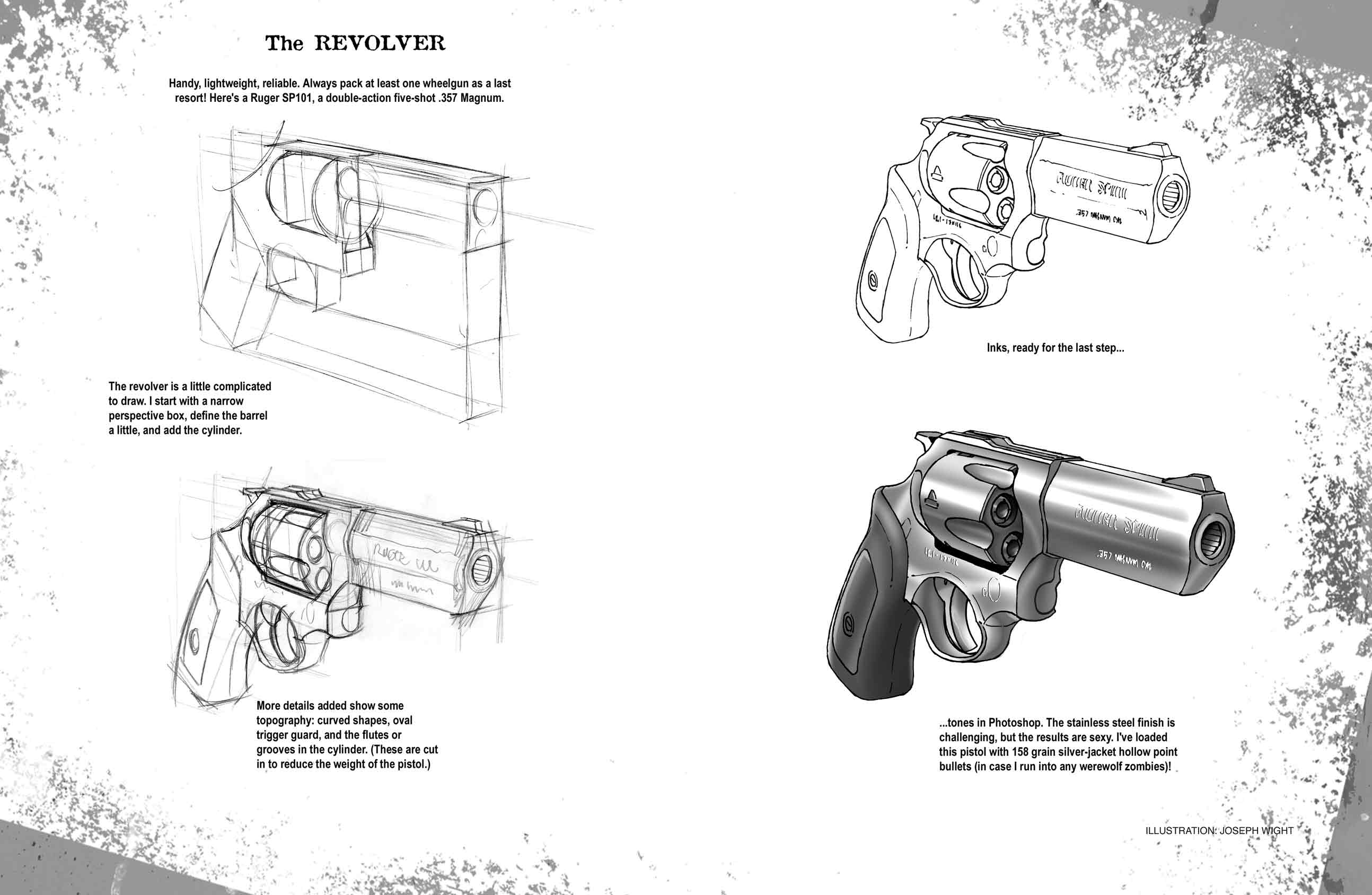 How To Zombie Ruger by joewight