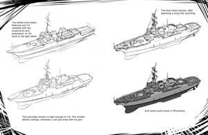 How To Draw Modern War_Missile Destroyer 2