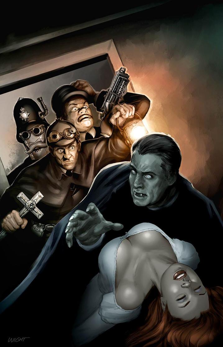 Dracula Bram Stoker Steampunk Halloween by...