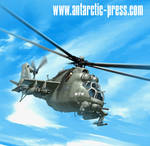 Hind helicopter