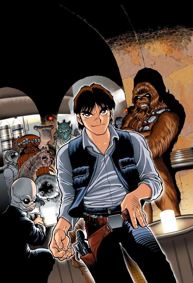 Star Wars Manga cover 2 by joewight