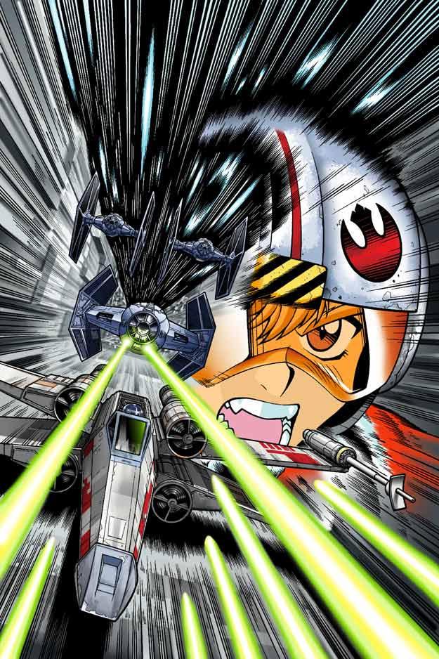 Star Wars New Hope Manga 4 by joewight