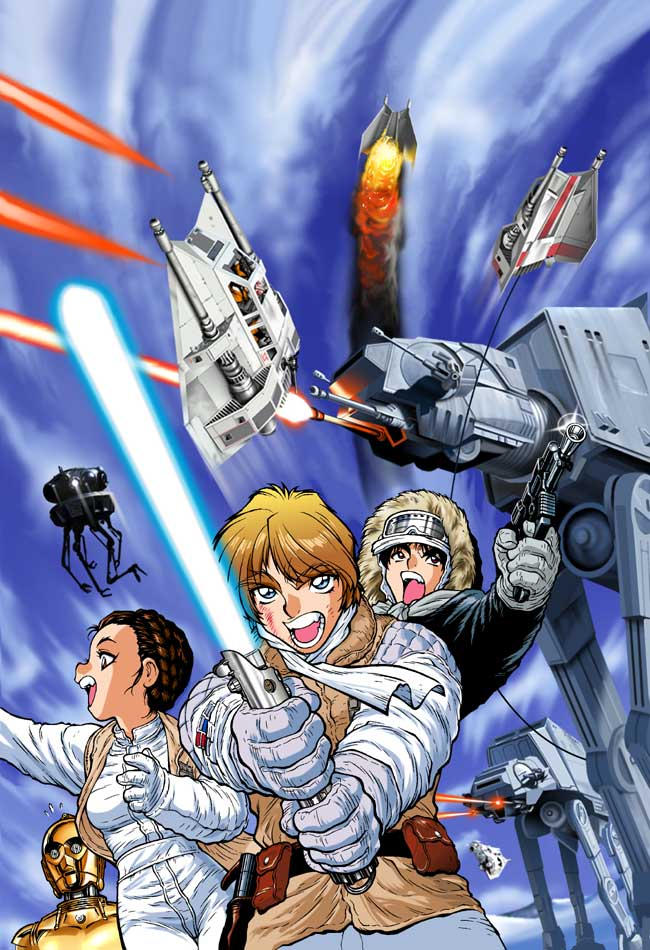 Empire Strikes Back Manga 1 by joewight
