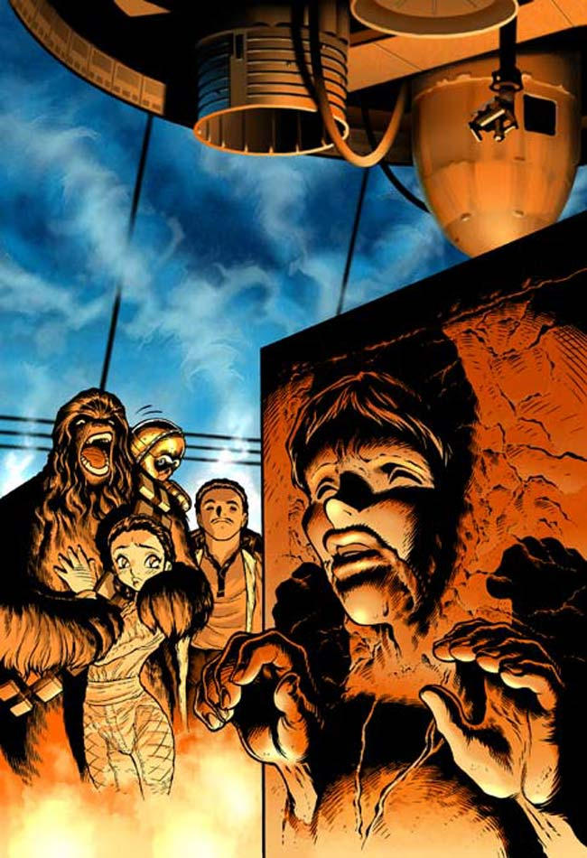 Empire Strikes Back Manga 4 by joewight