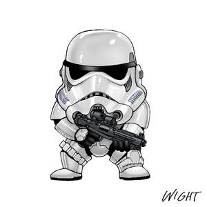 S is for Stormtrooper