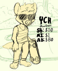 @ the skate park | YCH Auction | closed