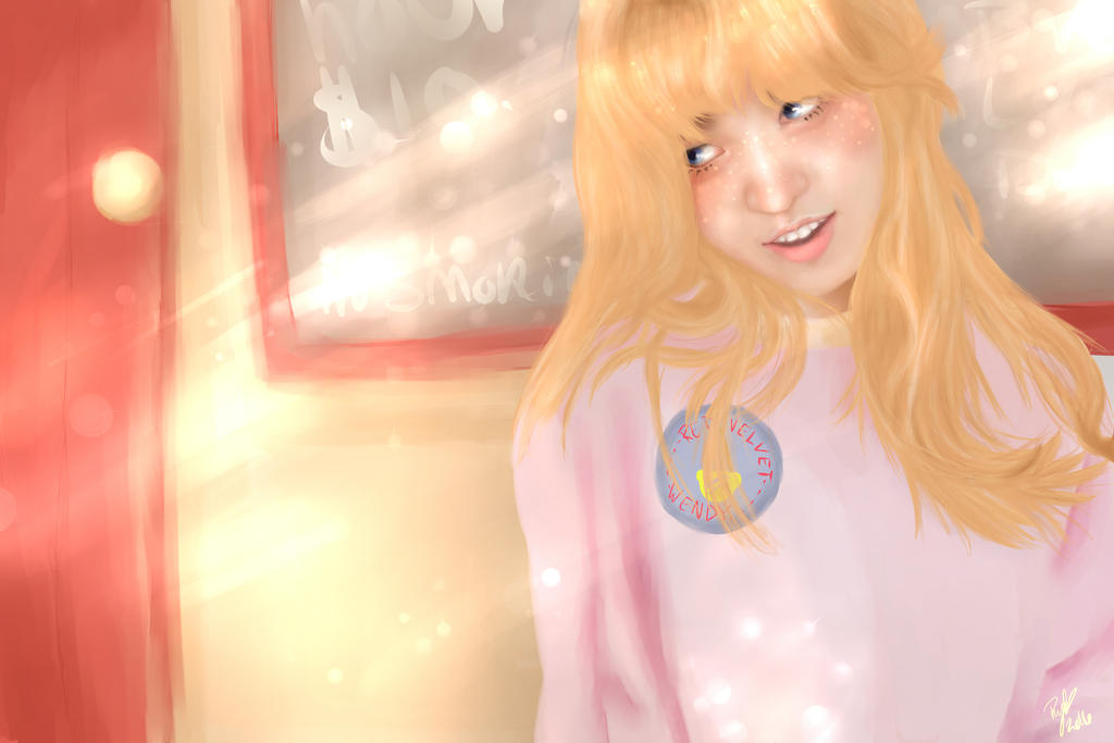 Afternoon || Wendy by chahakyeohno