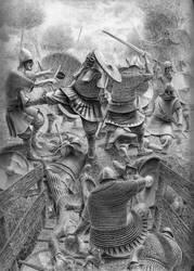 Vikingr (ballpoint pen) by farcelet