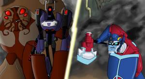 Art Jam: Shockwave vs Prime