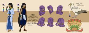 DS Concept Art - Nephthys -v1- by kenyizsu
