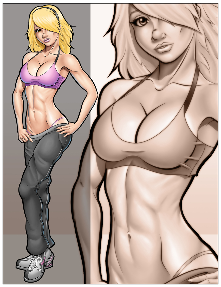 Fitness Artemis by Spacecowboytv