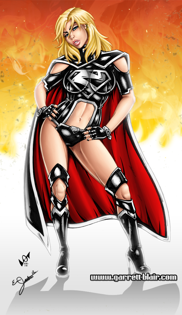 Garret Blair's Evil Supergirl 52 by Spacecowboytv