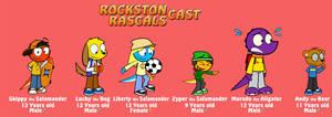 Rockston Rascals - Main cast