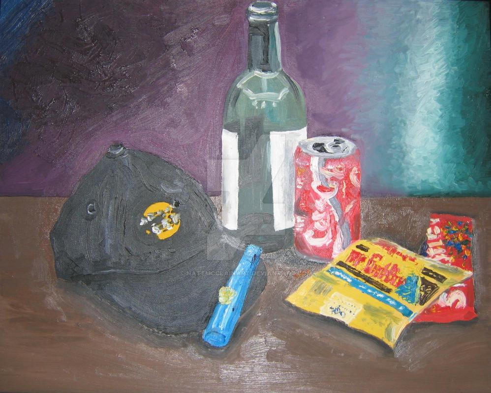 Still Life Candy by natemcclainart