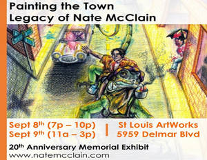 Art Exhibit Sept 8th and 9th in St. Louis MO