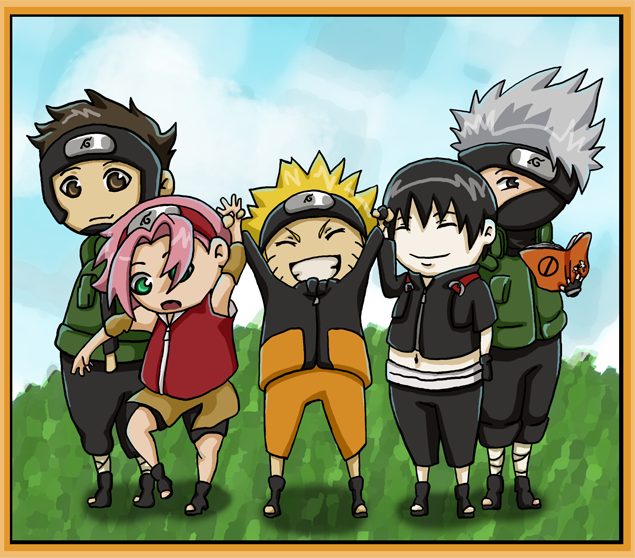 Downloads  16 251  0 today Naruto Shippuden Team 7 Assemble
