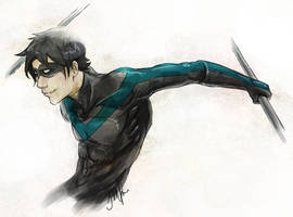 Nightwing by tacokisses