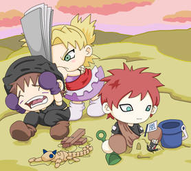 Naruto - Sand tots by tacokisses